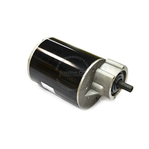 24V Brush Motor with Gearbox Assembly 200RPM 0.75HP
