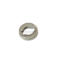 Metal shield speed ring coupling