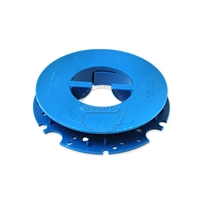 Pad Holder Centering Device Bigh Mouth Blue
