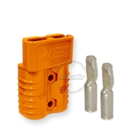 SB175 Anderson connector with 4 AWG contacts - Orange 18 Volts 6327G6
