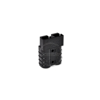 SB50 Anderson connector housing - black 80 Volts 992G2