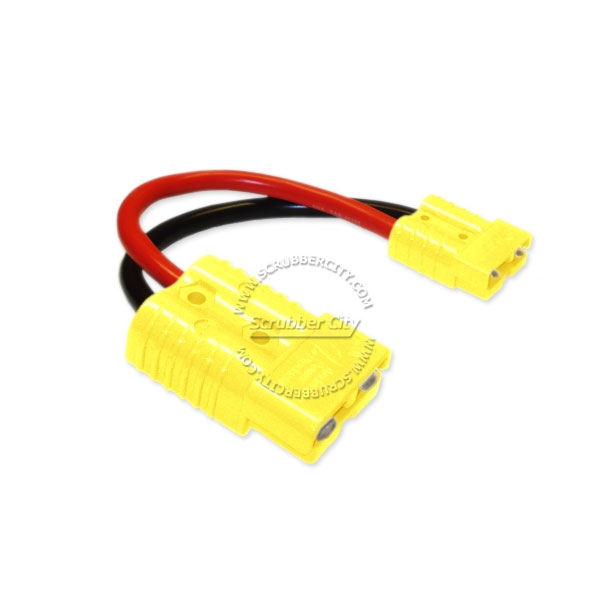 23027Y 2 10 inch 12v battery cable anderson connector for sb175s 12 volt battery harness at bayanpartner.co