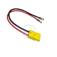 "Battery Cable Anderson connector SB175 4 Gauge 24"" inches long, yellow anderson connector, 12 volt battery cable"