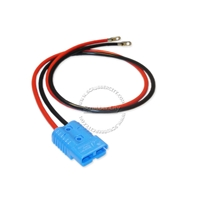 Battery Cable Anderson, 48 volts blue connector SB175, Universal Battery Cable