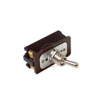 Toggle switch DPST, 1-1/2 hp, 4 screws terminals, 20A 125V