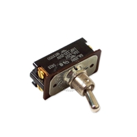 Toggle switch DPST, 1 hp, 4 screws terminals, 16A 125V