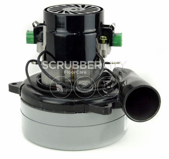 Vacuum motor 36 vdc 2 stage bottom inlet 119434 13 116158 00 for 2 stage vacuum motor