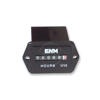 ENM Analog hour meter, 10-80VDC