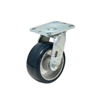 Aluminum wheel with bearing and spanner