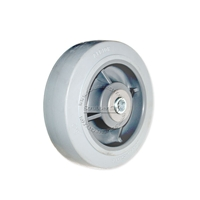 "Colson Performa non-marking wheel with bearing. Size 6"" x 2"""