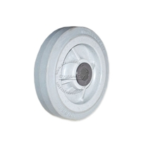 "Buffer Wheel. Non-marking with bearing. Size 6"" x 1.5"""