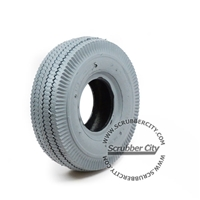 Non-marking Gray Tire, size 4.10/3.50-4