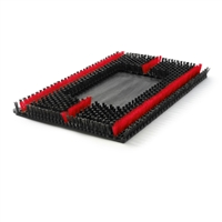 702420 - Sonic Scrub Red Brush fits Orbital Machines 14 x 20