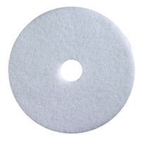 "13"" White Polishing Floor Pads 1 CASE = 5 PADS"