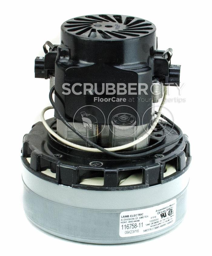 Ametek Lamb ACUSTEK Vacuum Motor 120V 2 Stage 116758 11