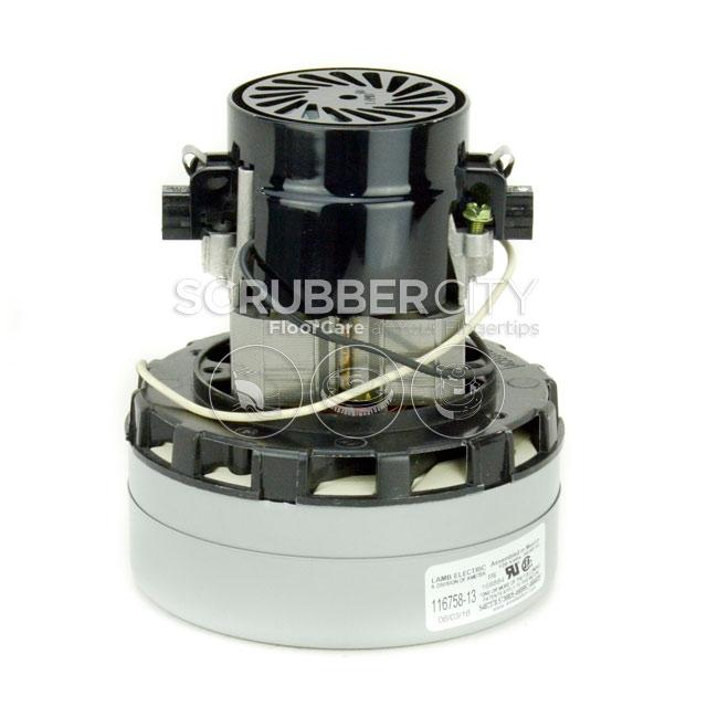 Ametek Lamb ACUSTEK Vacuum Motor 120V 2 Stage 116758 13