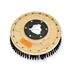 "17"" Poly scrubbing brush assembly fits Cassidy (Clean-O-Matic) model 190"