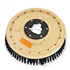 "21"" Poly scrubbing brush assembly fits Cassidy (Clean-O-Matic) model 23, 230, 230A"