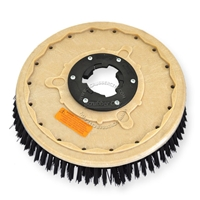 "19"" Poly scrubbing brush assembly fits DART model 21A"