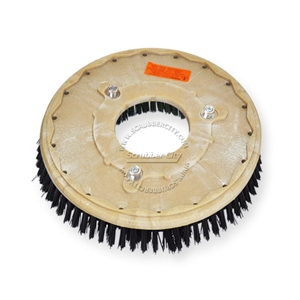"14"" Poly scrubbing brush assembly fits NILFISK-ADVANCE model Convertamatic 280, 285"