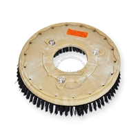 "15"" Nylon scrubbing brush assembly fits Tennant model T3 - 17"""
