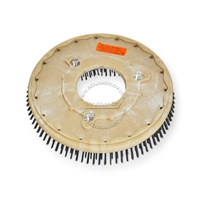 "13"" Steel wire scrubbing brush assembly fits Clarke / Alto (American Lincoln) model Mini-Max 26"