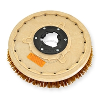 "20"" MAL-GRIT XTRA GRIT (46) scrubbing brush assembly fits LAWLOR model C-22, CF-22"