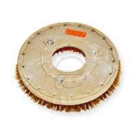 "14"" MAL-GRIT XTRA GRIT (46) scrubbing brush assembly fits POWERBOSS model 62, 65, 78, 80, 85 (3/Set)"