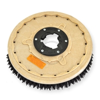 "18"" MAL-GRIT (80) scrubbing and stripping brush assembly fits NOBLES model 2075 SD"