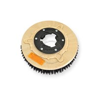 "10"" MAL-GRIT (80) scrubbing and stripping brush assembly fits UNITED (Unico) model 112, 112B, 112C"