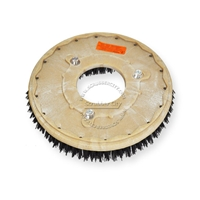 "13"" MAL-GRIT (80) scrubbing and stripping brush assembly fits Tennant model 5540"