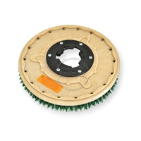 "17"" MAL-GRIT SCRUB GRIT (120) scrubbing brush assembly fits MINUTEMAN (Hako / Multi-Clean) model MC-19"