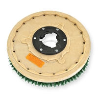 "19"" MAL-GRIT SCRUB GRIT (120) scrubbing brush assembly fits (SSS) Standardized Sanitation Systems model 21"