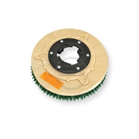 "11"" MAL-GRIT SCRUB GRIT (120) scrubbing brush assembly fits LAWLOR model C-12, C-13"