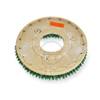 "14"" MAL-GRIT SCRUB GRIT (120) scrubbing brush assembly fits POWERBOSS model 62, 65, 78, 80, 85 (3/Set)"