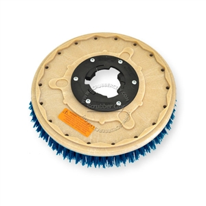 "15"" CLEAN GRIT (180) scrubbing brush assembly fits THOROMATIC model TM-17"