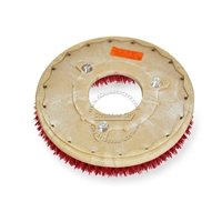 "15"" MAL-GRIT LITE GRIT (500) scrubbing brush assembly fits Tennant model T3 - 17"""