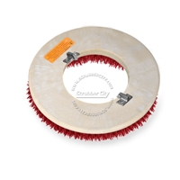 "17"" MAL-GRIT LITE GRIT (500) scrubbing brush assembly fits Clarke / Alto (American Lincoln) model 7000SS,7700 Scrubmobile (3/Set)"