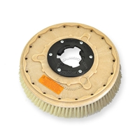 "16"" White Tampico brush assembly fits Tennant model Power Trend 17"