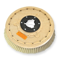 "19"" White Tampico brush assembly fits Tennant model Power Trend 20"