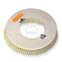 "17"" White Tampico brush assembly fits Clarke / Alto (American Lincoln) model 7000SS,7700 Scrubmobile (3/Set)"
