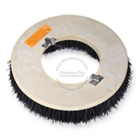 "17"" Bassine brush assembly fits Clarke / Alto (American Lincoln) model 7000SS,7700 Scrubmobile (3/Set)"