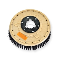 "15"" Poly scrubbing brush assembly fits Clarke model Encore 30"