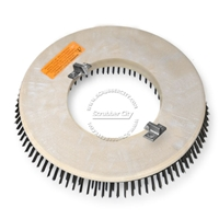 "18"" Steel wire scrubbing brush assembly fits Clarke / Alto (American Lincoln) model 7760 (3/Set)"