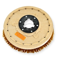"18"" MAL-GRIT XTRA GRIT (46) scrubbing brush assembly fits Clarke / Alto model Leader 2000E/2000B"