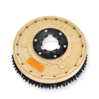 "16"" MAL-GRIT (80) scrubbing and stripping brush assembly fits Clarke / Alto model Vision 17"