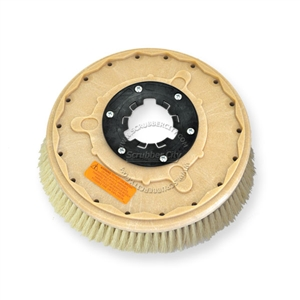"16"" White Tampico brush assembly fits Clarke / Alto model Leader 1700E/1700B"