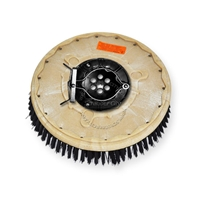 "13"" Poly scrubbing brush assembly fits Factory Cat / Tomcat model 27, 2700"
