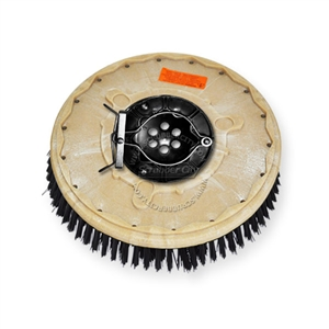"16"" Poly scrubbing brush assembly fits Factory Cat / Tomcat model MAGNUM 34"