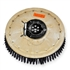 "21"" Poly scrubbing brush assembly fits Factory Cat / Tomcat model 23"